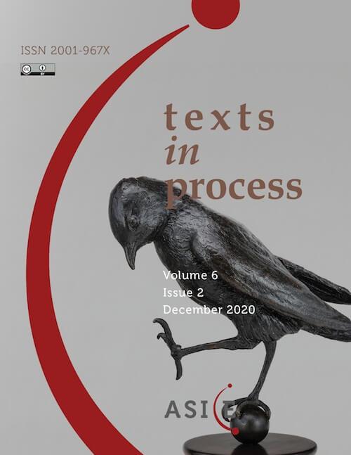 Portada Texts in Process